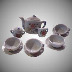 Tea Set Childrens Miniature Doll House Accessory