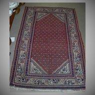 Engelais Oriental Persian Rug Fine Carpet Vintage Textile