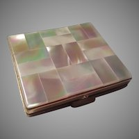 Mother of Pearl Top Compact