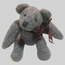Small Old Grey Teddy Bear