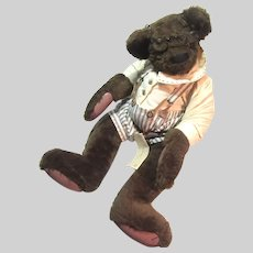 1993 Lonnie St Martin Teddy Bear Dressed Jointed Signed