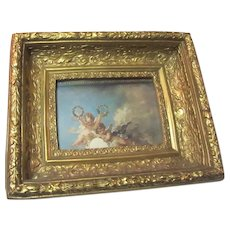 Deep Picture Frame Gold Gilt Possible Shadowbox