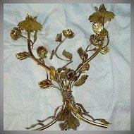 Italian Florentine Gold Gilt Candelabra
