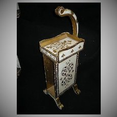 Italian Florentine Phone Stand Side Table
