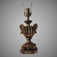 Gold Gilt Florentine Table Lamp