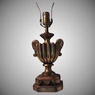 Gold Gilt Florentine Table Lamp
