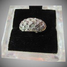 Fine Vintage CZ Cubic Zirconia  Ring  Sz 5.25