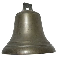 Old Bronze or Heavy Brass Bell