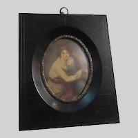 Picture Frame for Miniature Art Early 1900's