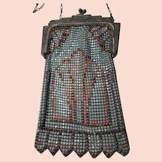 Antique Art Deco Metal Mesh Bag