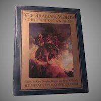 The Arabian Nights Kate Douglas Wiggin Maxfield Parrish Hardback Book