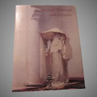 American Paintings and Sculpture  Art Institute Book