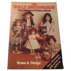 The Dolls Dressmaker Pattern Sewing Book Doll Clothing