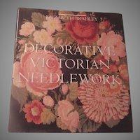 Decorative Victorian Needlework Large Needlecraft Book