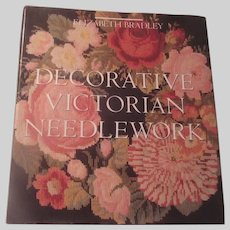 Decorative Victorian Needlework Large Needlecraft Book