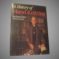 A History of Hand Knitting Book