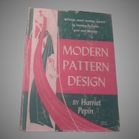 Modern Pattern Design 19742 Vintage Clothing Book
