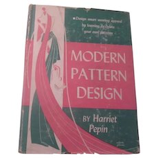 Modern Pattern Design 19742 Vintage Clothing Book
