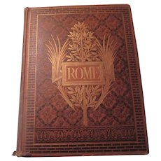 Rome 1875 Large Art Architecture Book Francis Wey