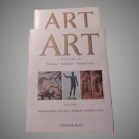 Art A History of Painting Sculpture Architecture 2 Volume Large Book Set