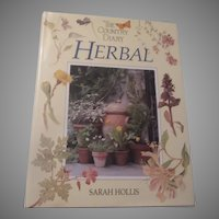 Country Diary Herbal Herb Gardening History Mythology Book