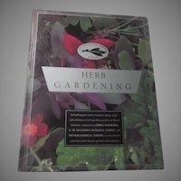 Herb Gardening American Garden Guide Herbal Book