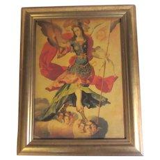 St Michael Framed Print