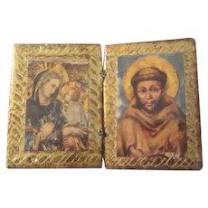 Small Florentine Icon Virgin Mary