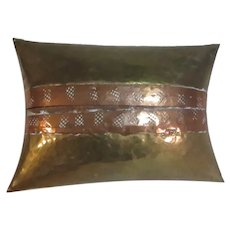 Brass & Copper Small Pillow Box Asian