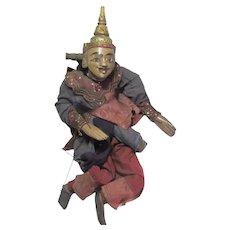 Antique Burmese  Marionette Doll