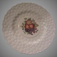 Spode Copeland Alden Set 8 Plates 4 Coordinating Floral designs Fine China