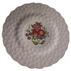 Spode Copeland Alden Set 6 Plates  Coordinating Floral designs Fine China