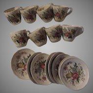 Spode Copeland Gainsborough Demitasse Cup Saucer Set 8