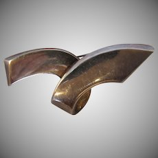 Paloma Picasso Tiffany Sterling Silver Pin Brooch Signed 1985