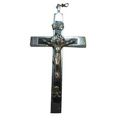 Old Nuns Crucifix Skull and Crossbones