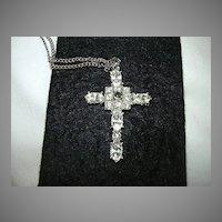 Rhinestone Stanhope Cross