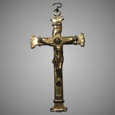 Old Czech Crucifix Cross