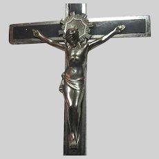 Very Large  Personal Crucifix Nuns Estate
