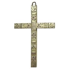 Small Cross With Engraved Designs