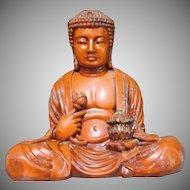 Large Seated Buddha Statue