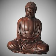1980 Austin Signed Coppertone Buddha
