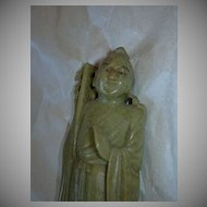 Carved Soapstone Chinese Figure