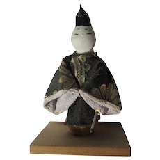 Miniature Asian Oriental Figure In Kimono