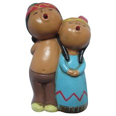 Carolers Figurines Ethnic Indian Native American Style Figures
