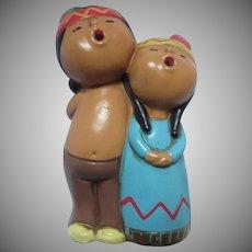 Carolers Figurines Ethnic Indian Native American Style Figures