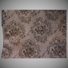 Floral Tapestry Style Decorator Vintage Fabric Upholstery