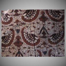 Batik Fabric Vintage Cotton