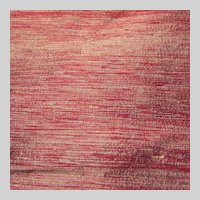 Red With Golden Accents Pure Silk Dupioni Fabric