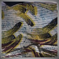 Old Cotton Batik Fabric