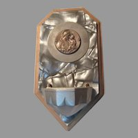 Holy Water Font With St Joseph Medal